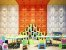 Revestimento Decorativo Placas 3D  Torcello 1 mt² - Imagem 5