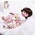 Bebê Reborn 100% Silicone , menina, pode darBanho 48cm - Imagem 1