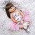 [Pronta Entrega] Bebê reborn  coelhinho, cabelo comprido, 100% silicone  55cm - Imagem 5