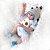 Bebê reborn menino,  cachorrinho, 100% silicone  48cm - Imagem 6
