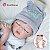 Bebê reborn menino, 100% silicone, recém nascido, 48cm - Imagem 1