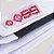 Faixa Jiu-Jitsu Trançada Branca Com Ponteira Preta - OSS - Imagem 2