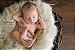 Manta para Newborn Pêlo Longo - Cor Creme - Imagem 3