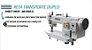 Máquina de Costura Industrial Reta Transporte Duplo Direct Drive MegaMak MK0303D - Imagem 2