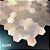 EPL88 - Pastilha Adesiva Inox Hexagone Rose   -    Peça - Imagem 5