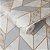 Papel de Parede Rose Gold e Cinza - Lanc - Imagem 1