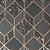 Papel de Parede Geométrico Rose Gold GreenPark - Imagem 2