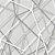Papel de Parede 3D Geometrico Teia Cinza Star - Imagem 2
