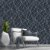Papel de Parede 3D Geometrico Teia Azul Star - Imagem 1
