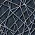 Papel de Parede 3D Geometrico Teia Azul Star - Imagem 2