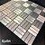 EPL084 - Pastilha Adesiva Quadriculada Prata - Peça - Imagem 3