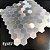 EPL087 - Pastilha Adesiva Hexagone Prata - Peça - Imagem 3