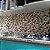 EPLMCD01 - Pastilha Adesiva Resinada Marrom, Creme com Dourado - Peça - Imagem 1