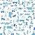 Papel de Parede Carros Azul - Brincar - Imagem 1