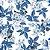 Papel de Parede Flores e Pássaros Contemporâneo - Imagem 2