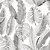 Papel de Parede Folhagens Cinza Atemporal - Imagem 1