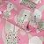 Papel de Parede Cachorro Fundo Rosa - Boys and Girls - Imagem 3