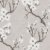 Papel de Parede Folhagem Cerejeira Branco e  Cinza - Element - Imagem 1