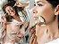 Rolo de Massagem Facial Jade Natural Face Lifting Anti Rugas Rosto Emagrecimento Cuidados com a Pele - Imagem 5
