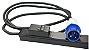 PDU Rack Basic Zero U 32A 230V, (20) C13 & (4)C19  / AP7553 - Imagem 1