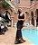 Vestido Longo Lurex Detalhes Em Tule - Imagem 2