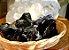 Pedra Obsidiana Negra  Bruta 100g - Imagem 2