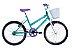 "Bicicleta Infanto Juvenil Aro 20"" Cindy Azul/Branco - Track & Bikes - Imagem 1"