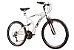 Bicicleta TK400 Aro 26 Full Suspension Alumínio 21 Velocidades Branco - Track & Bikes - Imagem 1