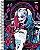 Caderno Universitário Esquadrão Suicida Harley Quinn Bad Girl 10 Matérias 200 Folhas - Imagem 1
