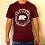Camiseta Bordô Urso Circular - Imagem 1