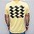 Camiseta Slim Calçada SP Amarela - Imagem 1