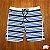 Bermuda Boardshorts Listrada Azul - Imagem 1