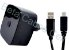 Carregador Celular Tomada V8 Turbo com 1 USB  Estilo MOTOROLA - Imagem 1