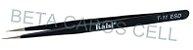 Pinça Reta De Aço Inox Antiestatica Kaisi T11 Esd Preta - Imagem 2