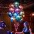 """Balão Chrome Látex Azul - 11"""" Polegadas - Imagem 2"""