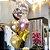 Buquê Personalizado (01 Bubble + 01 Metalizado Estrela + 02 Chrome + 02 Látex) - Imagem 1