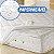 Protetor solteiro impermeável com enchimento Zambrano 88x188x40 - Imagem 1