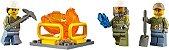 LEGO CITY 60122 VOLCANO CRAWLER - Imagem 5