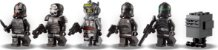 LEGO STAR WARS 75314 A NAVE DE ATAQUE BAD BATCH™ - Imagem 7