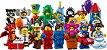 LEGO MINIFIGURES 71021 SÉRIE 18 (COLEÇÃO COMPLETA) - Imagem 1