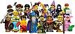 LEGO MINIFIGURES 71007 SERIE 12 (COLEÇÃO COMPLETA) - Imagem 1