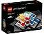 LEGO ARCHITECTURE 21037 LEGO HOUSE BILLUND DENMARK - Imagem 1