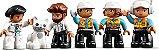 LEGO DUPLO 10933 TOWER CRANE & CONSTRUCTION  - Imagem 6