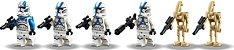 LEGO STAR WARS 75280 501st LEGION CLONE TROOPERS - Imagem 5