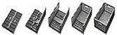 Caixa plástica dobrável cinza 60x40x24 cm 40 kg - Pct c/1  - Imagem 3