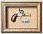 Quadro de Arma Resina Deringer Pocket Pistol - Clássico - Imagem 1