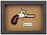 Quadro de Arma Resina Deringer Pocket Pistol - Clássico - Imagem 3