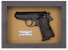 Quadro de Arma Resina Walther PPK/S cal. .380 ACP - Clássico - Imagem 3