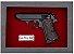 Quadro de Arma Resina Walther PPK/S cal. .380 ACP - Clássico - Imagem 2