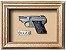 Quadro de Arma Resina Steyr 6,35 - Clássico - Imagem 1